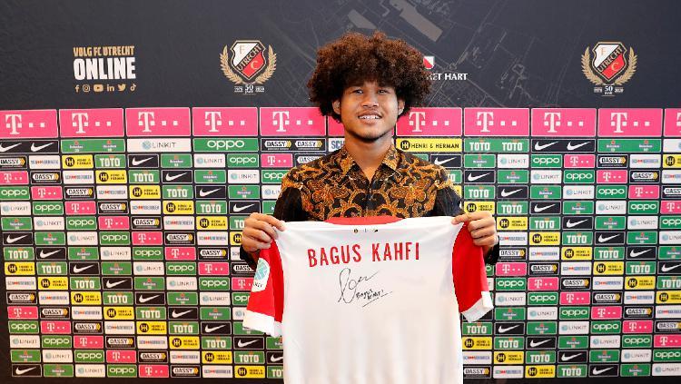 Bagus Kahfi Resmi Bergabung dengan FC Utrecht Copyright: twitter.com/fcutrecht/