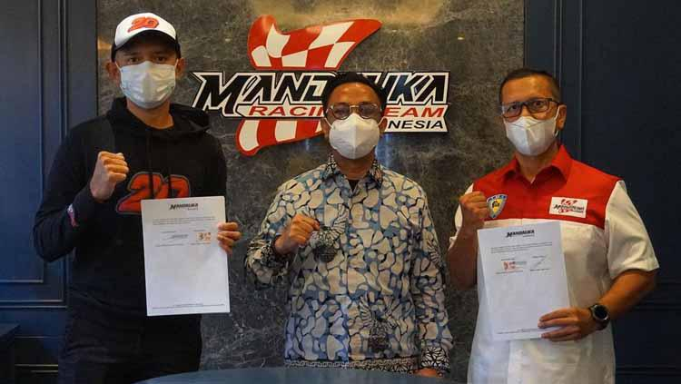 Akhirnya, Dimas Ekky Resmi Balapan di CEV Moto2 Bersama Mandalika Racing Team