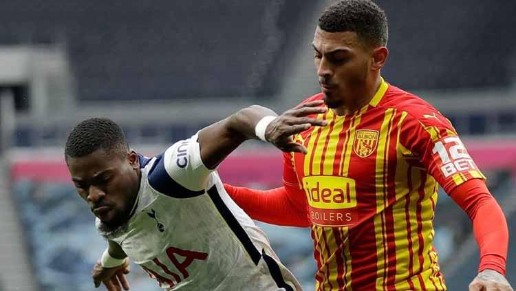 Hasil Pertandingan Liga Inggris Tottenham Hotspur vs West Bromwich Albion: Mengerikannya Duet Son-Kane