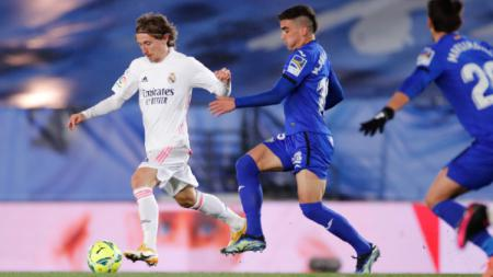 Pertandingan Real Madrid vs Getafe di Liga Spanyol - INDOSPORT