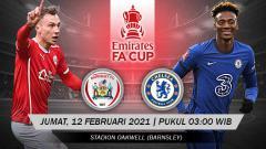 Indosport - Berikut prediksi pertandingan Barnsley vs Chelsea di ajang Piala FA babak 16 besar, Jumat (12/2/2021) pukul 03.00 WIB di Oakwell.