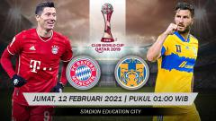 Indosport - Pertandingan Bayern Munchen vs Tigres UANL (Club World Cup).