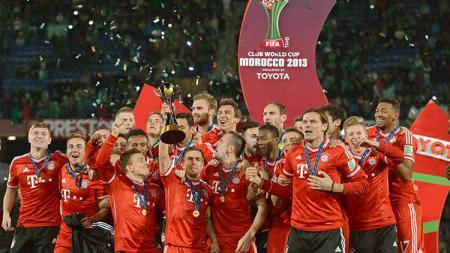 Bayern munchen saat juara piala dunia antarklub 2013 - INDOSPORT