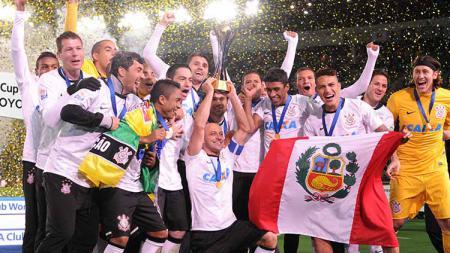 Corinthians juara piala dunia antarklub 2012 dengan mengalahkan Chelsea, 1-0. - INDOSPORT