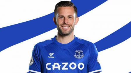 Gylfi Sigurdsson bangkit di Everton setelah ditangani Carlo Ancelotti. - INDOSPORT