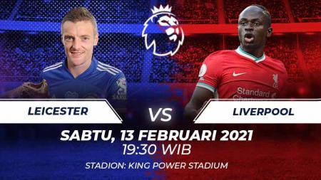 Prediksi Leicester vs Liverpool. - INDOSPORT