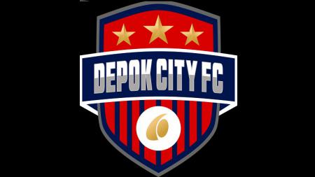 Logo klub Liga 3, Depok City FC. - INDOSPORT