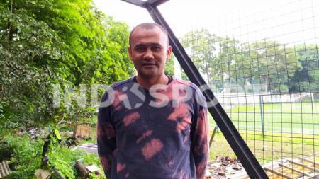 Mantan pemain Barito Putera, Persema Malang, Persela Lamongan dan PSMS Medan, Egie Nirwan. - INDOSPORT