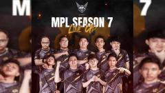 Indosport - Line Up Tim RRQ untuk MPL Indonesia Season 7.