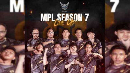 Line Up Tim RRQ untuk MPL S7. - INDOSPORT