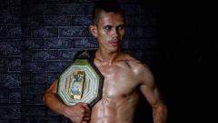 Indosport - Billy Pasulatan petarung MMA Indonesia.