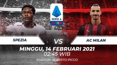 Link Live Streaming Serie A Liga Italia: Spezia vs AC Milan - INDOSPORT