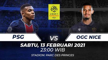 PSG vs OGC Nice. - INDOSPORT