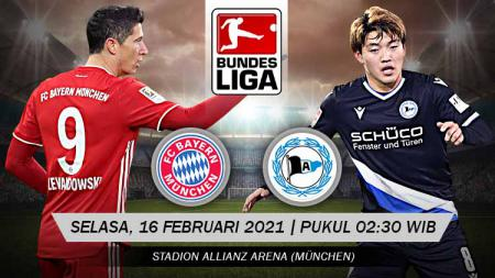 Berikut prediksi pertandingan Bundesliga Jerman antara Bayern Munchen vs Arminia Bielefeld. - INDOSPORT