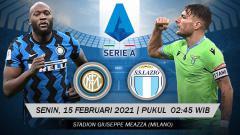 Indosport - Berikut link live streaming pertandingan Serie A Italia giornata ke-22 yang akan mempertemukan Inter Milan vs Lazio.