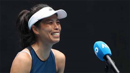 Petenis veteran asal Taiwan Hsieh Su-wei mengungkapkan bagaimana kisah kebangkitannya hingga bisa mencapai babak perempat final di gelaran Australian Open 2021. - INDOSPORT