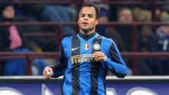 Indosport - Amantino Mancini saat masih berseragam Inter Milan.
