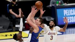 Indosport - Lakers menyerah di tangan Nuggets dalam lanjutan NBA, Senin (15/02/21).