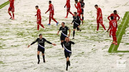 Pertandingan Bundesliga Jerman antara Bayern Munchen vs Arminia Bielefeld, Senin (15/2/21). - INDOSPORT