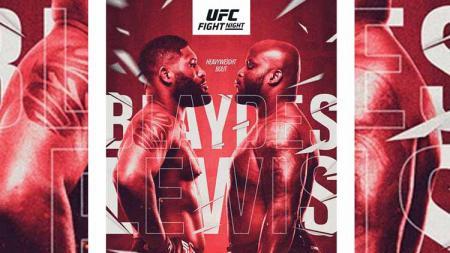 Duel dua petarung raksasa kelas berat Curtis Blaydes vs Derrick Lewis di UFC Vegas 19 - INDOSPORT