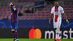 Indosport - PSG patut telan kekecewaan karena ada dua alasan yang buat Lionel Messi ogah tinggalkan raksasa LaLiga Spanyol, Barcelona.