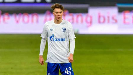 Matthew Hoppe, wonderkid Schalke 04 incaran Arsenal. - INDOSPORT