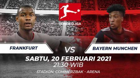 Link Live Streaming Bundesliga Jerman: Eintracht Frankfurt vs Bayern Munchen. - INDOSPORT