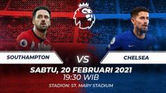 Indosport - Southampton vs Chelsea.