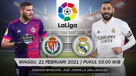 Pertandingan Real Valladolid  vs Real Madrid (LaLiga). - INDOSPORT