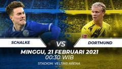 Indosport - Link Live Streaming Bundesliga Jerman: Schalke 04 vs Borussia Dortmund.