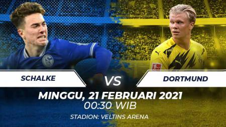 Link Live Streaming Bundesliga Jerman: Schalke 04 vs Borussia Dortmund. - INDOSPORT