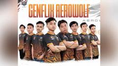 Indosport - Tim eSports Genflix Aerowolf.