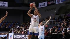 Indosport - Pebasket yang juga anggota Timnas Indonesia, Sandy Ibrahim.