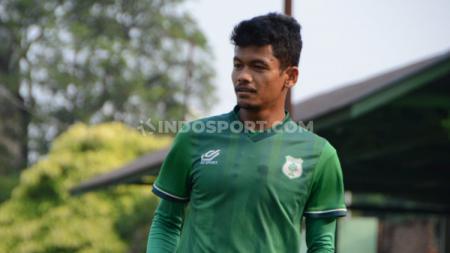 Ilham Fathoni saat berseragam PSMS Medan di Liga 2 2019 lalu. - INDOSPORT