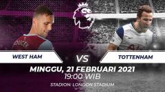 Indosport - West ham vs Tottenham