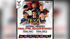 Indosport - Final FFML Season III Divisi 1.