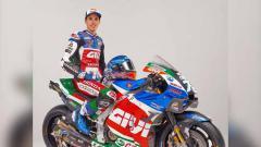 Indosport - Livery motor baru Alex Marquez bersama LCR Honda untuk MotoGP 2021 .
