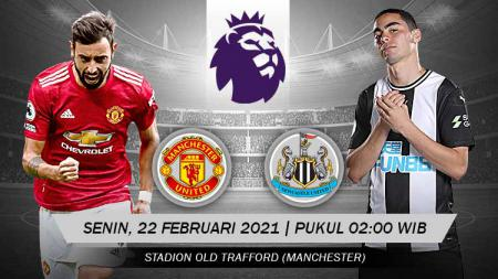 Pertandingan Manchester United vs Newcastle United (Liga Inggris). - INDOSPORT