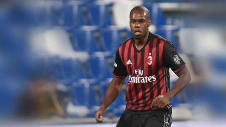 Jherson Vergara saat masih berseragam AC Milan. - INDOSPORT