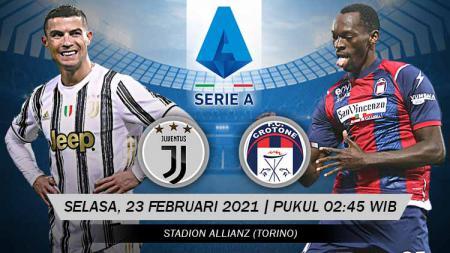 Pertandingan Juventus vs Crotone (Serie A). - INDOSPORT