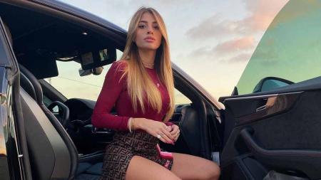 Chiara Nasti, kekasih Nicolo Zaniolo yang digoda Neymar. - INDOSPORT