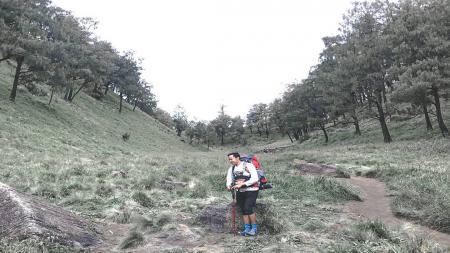 Bagi bintang muda Bank BPD DIY Bima Perkasa Jogja, Tifan Eka Pradita, mendaki gunung merupakan hobi yang ampuh untuk mengusir kebosananan dan rasa letihnya. - INDOSPORT