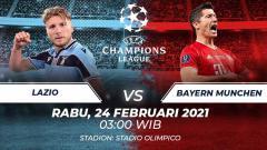 Indosport - Lazio vs Bayern Munchen.