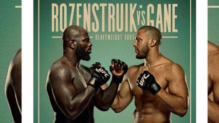 Duel Jairzinho Rozenstruik vs Ciryl Gane di UFC Vegas 20 - INDOSPORT