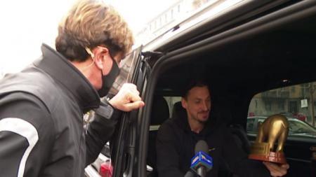 Zlatan Ibrahimovic Dapat Trofi Tapiro d'Oro pasca AC Milan kalah dari Inter Milan, Minggu (21/02/21) - INDOSPORT