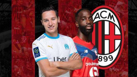 Jonathan Ikone vs Florian Thauvin, mana gelandang sayap Eropa yang paling pas untuk memperkuat AC Milan di bursa transfer musim panas nanti? - INDOSPORT