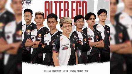 Tim Alter Ego yang berlaga pada MPL Indonesia Season 7. - INDOSPORT