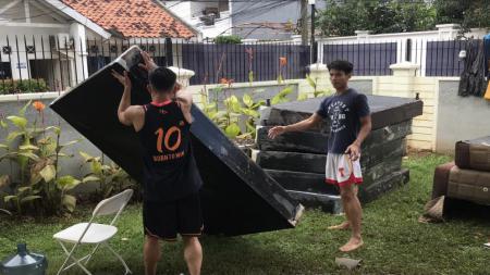 Hang Tuah kena banjir jakarta. - INDOSPORT