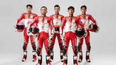 Indosport - Pembalap Astra Honda Racing Team.