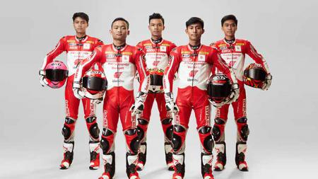 Pembalap Astra Honda Racing Team. - INDOSPORT
